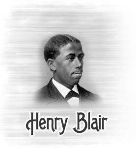 Henry Blair Black Inventor African American Inventors And Their